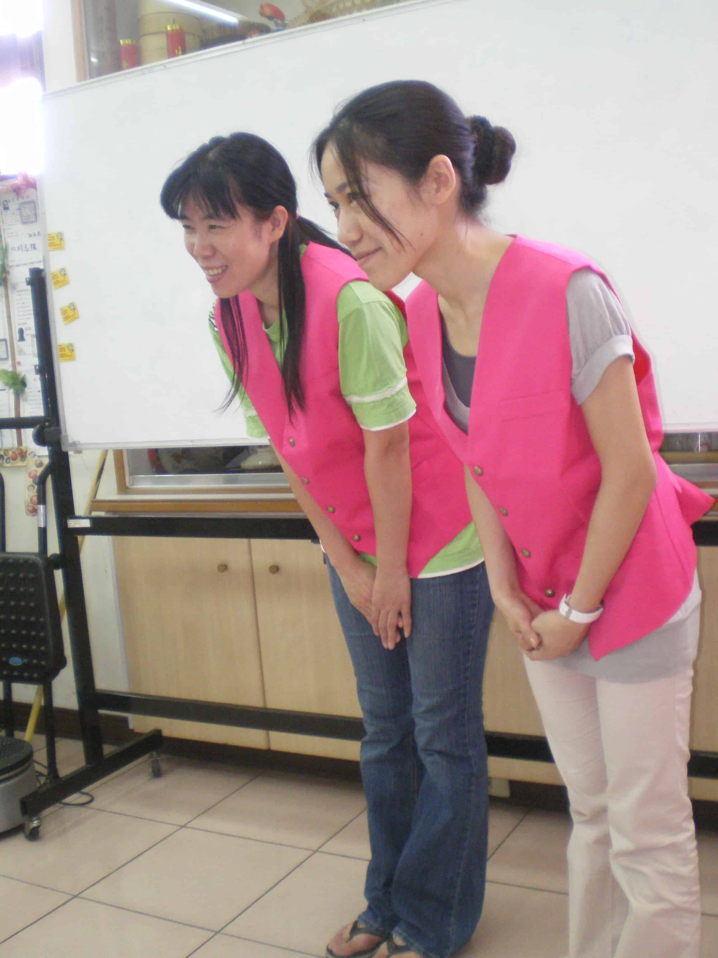 照護禮貌訓練